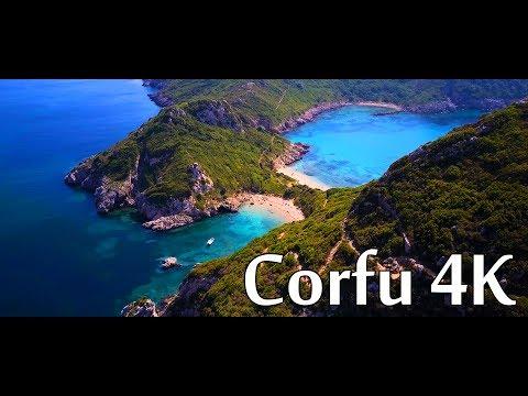 Corfu 4K - Greece - DJI Mavic Pro 4K Sample - Cinematic drone footage