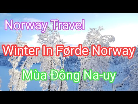 Norway Travel / Dạo TrungTâm Mua Sắm / Winter Weekend in Førde Norway