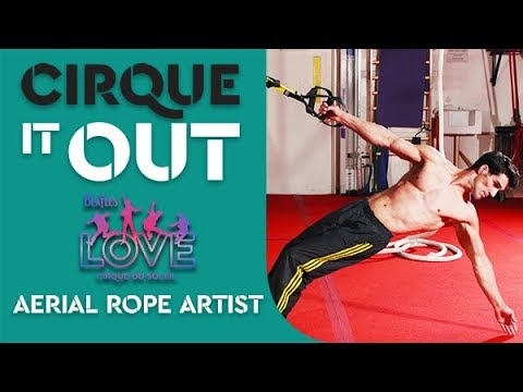 Suspension Training & Conditioning Workout | Aerial Rope Artist, The Beatles LOVE | Cirque It Out #6