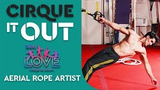 Video Suspension Training & Conditioning Workout | Aerial Rope Artist, The Beatles LOVE | Cirque It Out #6 download MP3, 3GP, MP4, WEBM, AVI, FLV Juli 2018