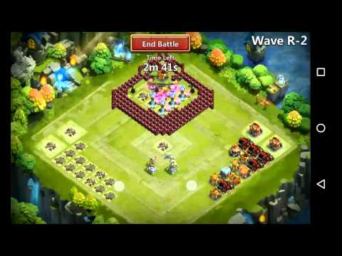 Castle Clash: Farming Here Be Monsters R With F2p Account