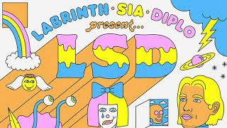 LSD - Welcome To The Wonderful World Of (Official Audio) ft. Labrinth, Sia, Diplo