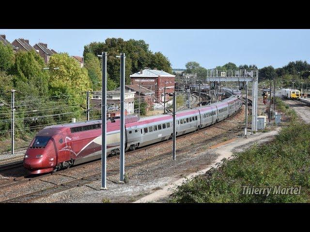 Thalys TGV PBKA - Rame n° 4303 et TGV PBA (réseau) - Rame n° 4540