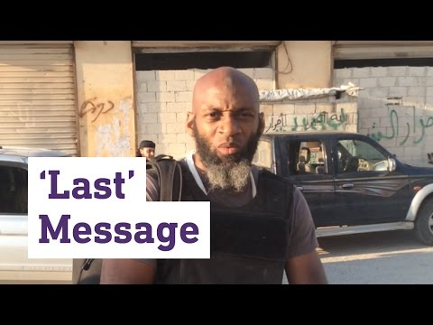 The 'last' message: Trapped US journalist posts final video from Aleppo