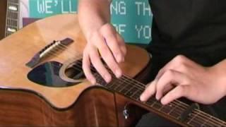 Lap Style percussive guitar techniques part 2 tutorial with Jamie Roberts
