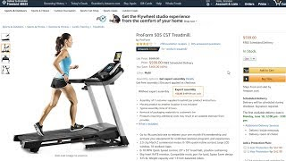 IN-DEPTH ProForm 505 CST Treadmill Amazon Review