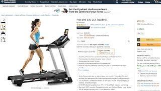 IN-DEPTH ProForm 505 CST Treadmill Amazon Review