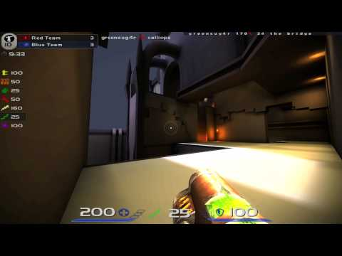 Quake Live 1440p maxed graphics gameplay PART 27 (Session 12) - Tier 3 Clan Arena