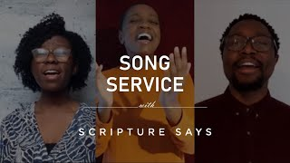 Just as I am / Sweet Hour of Prayer worship medley - Song service with Scripture Says (acappella)