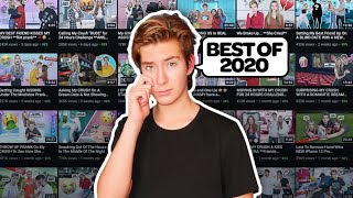 Reacting to My Most Popular Youtube videos Best of 2020  ??  cute youtube rewind |Sawyer Sharbino