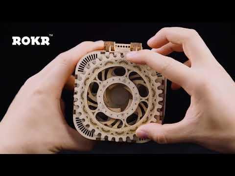 Creative Diy 3D Wooden Puzzle Box - Jigsaw Puzzles - Kawaii Mystery Box - Little Space Box