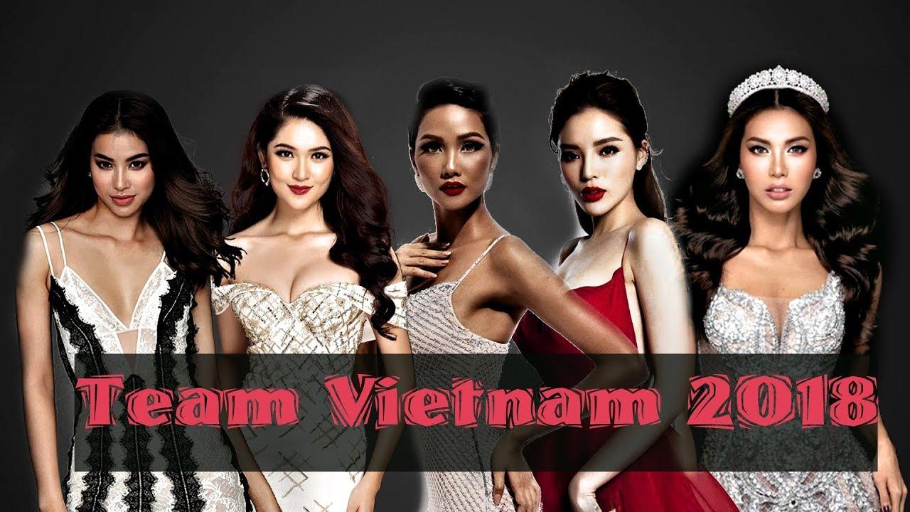 Team Vietnam In Beauty Pageant 2018