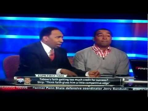 Skip Bayless Fights Chris Carter And Stephen A. Smith IN (HD)