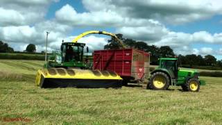 Silaging the Whole Crop with John Deere.