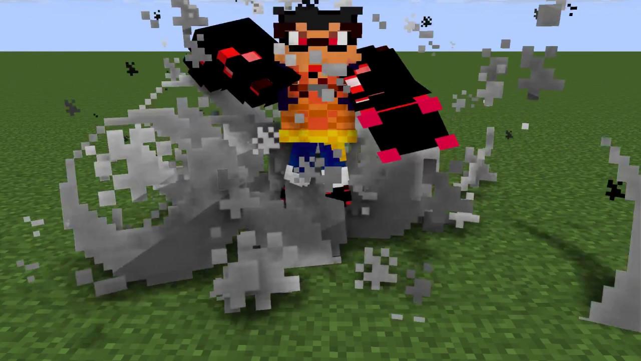 Luffy Gear 9 Minecraft Skin