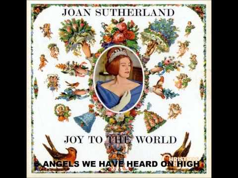 JOAN SUTHERLAND   ANGELS WE HAVE HEARD ON HIGH
