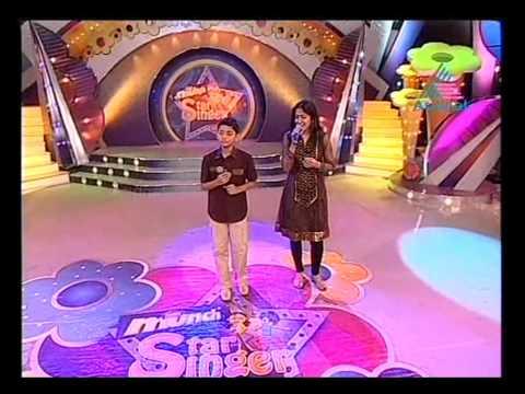 Munch Star Singer Vishnu with Shweta Mohan.wmv