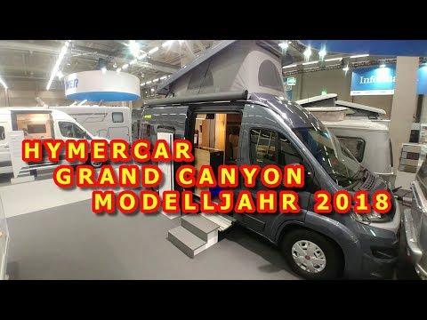 HYMERCAR GRAND CANYON AUF FIAT DUCATO, MODELLJAHR 2018, SUISSE CARAVAN SALON 2017, RUNDGANG