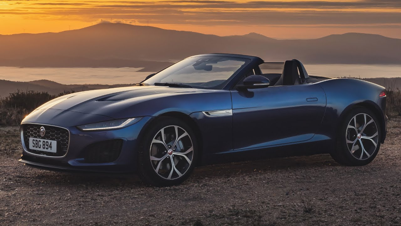 the new 2021 jaguar ftype convertible p300 introduction