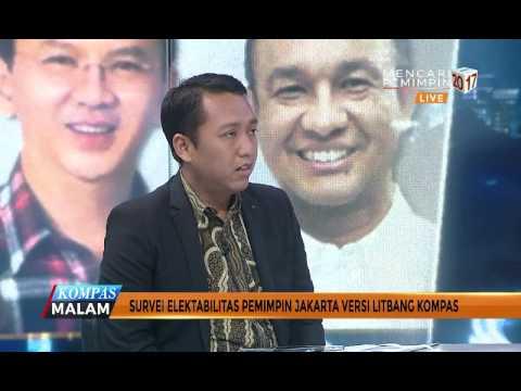 Survei Elektabilitas Pemimpin Jakarta Versi Litbang Kompas