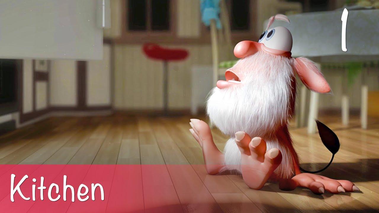 Booba Kitchen Episode 1 Cartoon For Kids Youtube