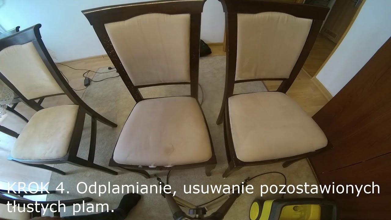 Pranie Krzesełka Odplamianie Krzeseł Usuwanie Plam