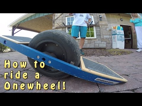 Onewheel Instructional for Beginners!