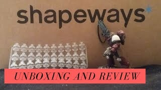 Shapeways 3D printed Products Review