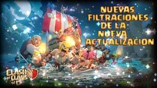 Filtraciones De La Nueva Actualización De Clash Of Clans Nuevas Sorpresas [By The AnilarGames]