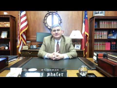 Interview Senate President Pro Tem David Shafer