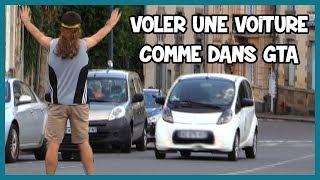 Voler une voiture à la GTA - Défi Prank - Les Inachevés