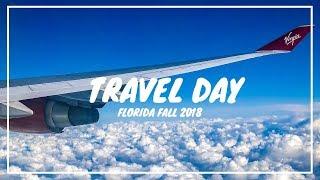 Travel Day - Flying Virgin Atlantic To Orlando & Checking In At Cabana Bay Beach Resort