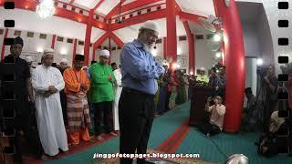 20190907 Dr Zakir Naik mengimamkan ...