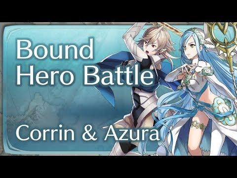 "Fire Emblem Heroes: Infernal  Bound Hero Battle - ""Corrin & Azura"""