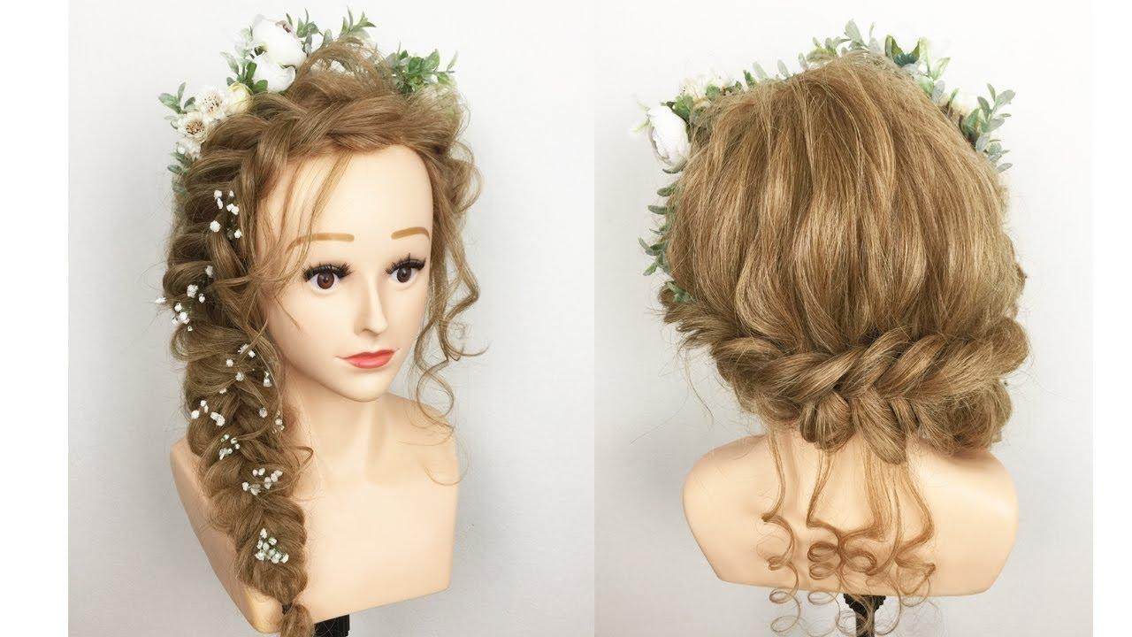 Hướng Dẫn Làm Tóc || Kiểu Tết Tóc Cô Dâu Đẹp 2020 – Cách Làm Tóc Đẹp Đơn Giản || Wedding Hairstyles