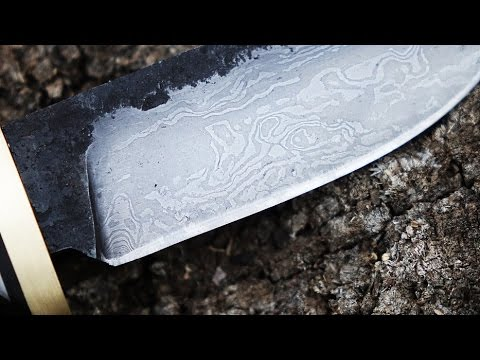Making A Knife From Scalpel Blades