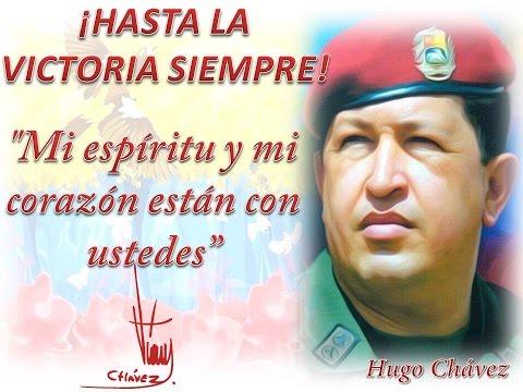Lucerito de mi llano Lucia Valentina y Hugo Chavez