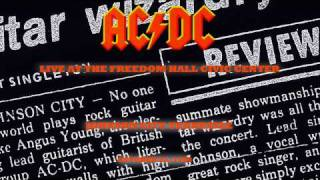 AC/DC Let There Be Rock LIVE: Johnson City,1988 Soundboard (With Stevie Young On Rhythm Guitar!!) HD
