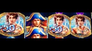 $ Napoleon and Josephine 110+ Spins Big Win $