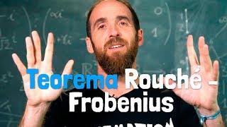 El TEOREMA DE ROUCHÉ-FROBENIUS | Una cumbre de las matemát...