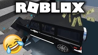 fat ROBLOX - car crushers - make money! [German/English]