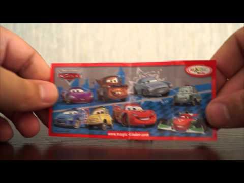 Disney Cars pixar 2015, Тачки коллекция от Киндер Сюрприз Kinder JOY surprise