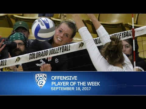 Colorado's Alexa Smith named Pac-12 Volleyball Offensive Player of the Week