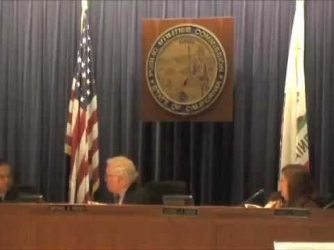 """CA Anti-NUKE Activists Speak Out At CPUC On San Onofre NUKE Plant """"Shut It Down Now"""""""