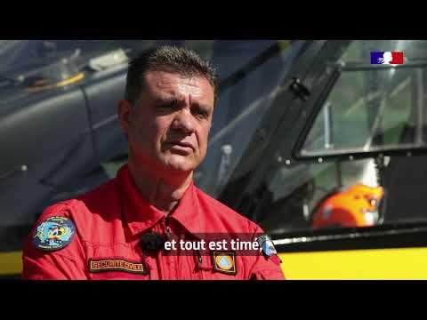#14Juillet Mobilisé pendant le #Covid19, Alain, pilote d'hélicoptère, défilera une 3ème fois