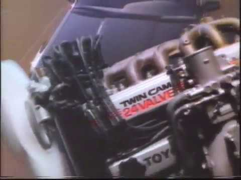 Toyota multi valve performance ad 1986