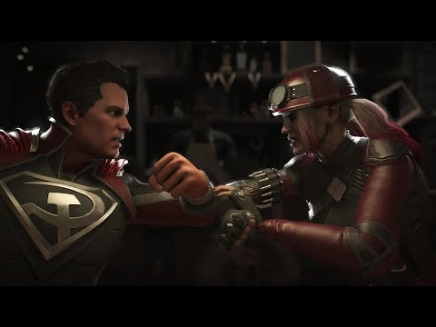 Injustice 2 : Superman Vs Harley Quinn - All Intro/Outros, Clash Dialogues, Super Moves