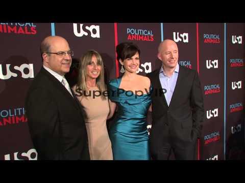 Jeff Wachtel, Bonnie Hammer, Carla Gugino and Chris McCum...