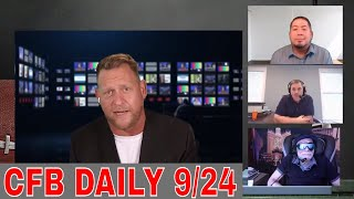 College Football Week 4 Betting Picks, Predictions and Odds | College Football Daily | September 24