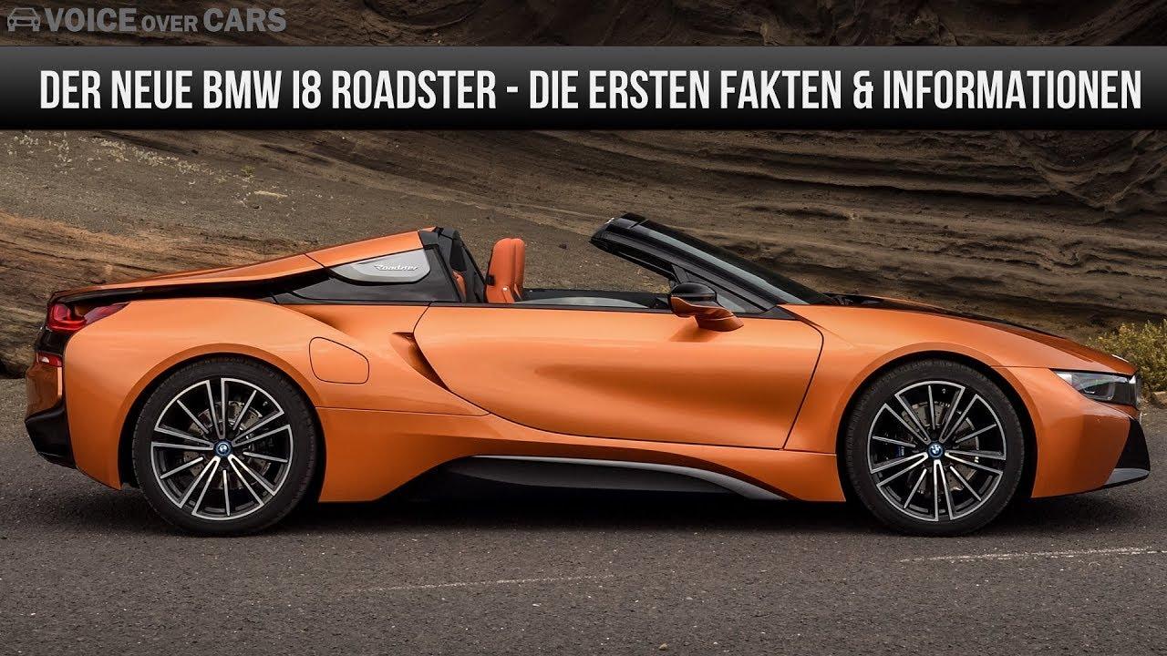 2018 Bmw I8 Roadster Fakten Und Erste Informationen Voice Over